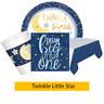 TWINKLE LITTLE STAR New BABY SHOWER Party Range - Tableware Supplies Decorations