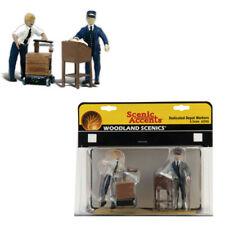 Woodland Scenics Accents A2555 Figures Dedicated Depot Workers G Scale