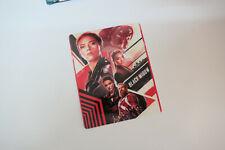 BLACK WIDOW - Glossy Steelbook Magnet Cover (NOT LENTICULAR)