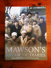 JACKA, Fred & Eleanor. Mawson's Antarctic Diaries. 2008.