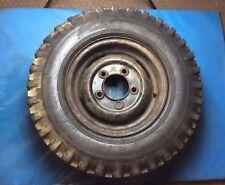 "Land Rover Defender 16"" Steel Wheel With Dunlop Roadtrak Tyre #003"
