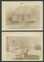 Windham South Jewett NY: Two 1940s Original Photos SILVER SPRINGS RESTAURANT