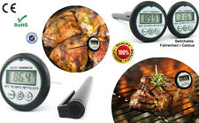 Latest Generation Accurate Pocket-size Digital BBQ / Cooking Thermometer