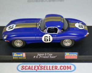 Scalextric Revell Jaguar E-Type #61 08299
