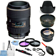 Tokina 100mm f/2.8 AT-X M100 AF Pro D Macro Autofocus Lens for Nikon PRO KIT NEW