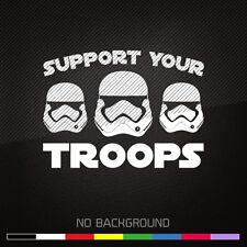 STAR WARS Stormtrooper decal sticker New Order Rebel Alliance Galactic Empire
