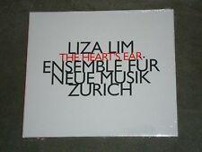 Liza Lim The Heart's Ear (CD, Hatnow) sealed Ensemble Fur Neue Musik Zurich