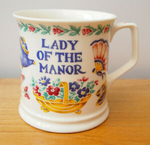 Lady Of The Manor - Past Times - 7945 - Fine Bone China Mug - Made In England