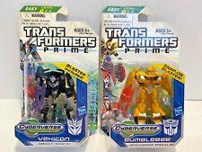 Transformers Cyberverse Vehicon Decepticon & Bumblebee Autobot Lot Ships Free