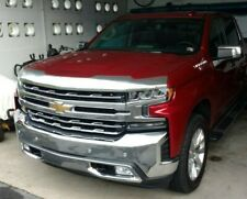 CHROME Bug Shield~ 2019 SILVERADO 1500 (NEW BODY ONLY) Hood Deflector Protector