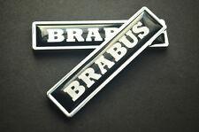 Car Emblem Side Fender Badge Decal logo Sticker For Mercedes Benz Brabus S CLS M