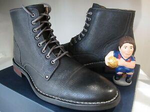 Cole Haan Canton Cap Toe II Grain Leather Boot Black Size 10.5 M C20009