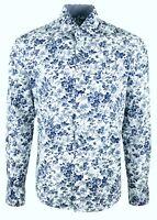 MENS FLORAL PRINT PARTY DRESS WEDDING FORMAL CASUAL SHIRT £18.99(386)