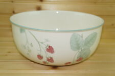 "Wedgwood Raspberry Cane Salad Serving Bowl, 9½"" x 4"""