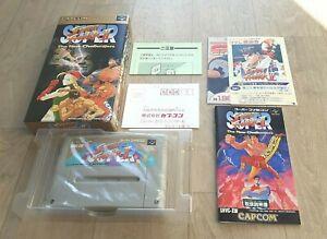 Super Street Fighter 2 The New Challegers Nintendo Super Famicom SFC NTSC-J JAP