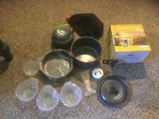 NIB Terra Hiker Camping Cookware, Nonstick, Lightweight Pots, Pans with Mesh Bag