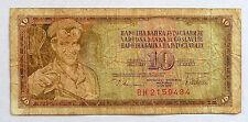 ANCIEN BILLET DE BANQUE 10 DINARA / YOUGOSLAVIE