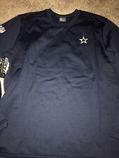 Dallas Cowboys Navy Blue Nike Modern Crew Coach Pullover Sweatshirt XXL