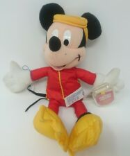 """MICKEY MOUSE 9"""" STAR BEAN BEANIE SOFT TOY BY FISHER PRICE COLLECTABLE"""