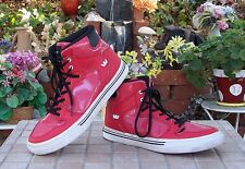 Supra Youth Size 6 Red Shoes  Used little