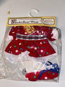 VanderBear Wear The North Pole Collection Santa's Workshop Fluffy VanderBear NIP