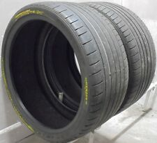 2 2853021 Dunlop 4mm R01 Noise Shield Maxx GT 285 30 21 Used Part Worn Tyres x2