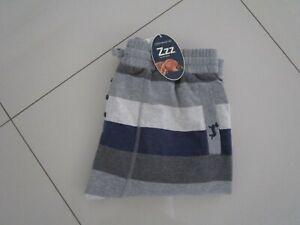 Peter Alexander Men's Marle Stripe Long Fleece Jogger Pants  Size L