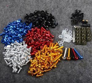 Fairing Bolts Kit Screws for Kawasaki KLX ZXR ZZR 400 600 ZR1100/1200 ZX6R ZX9R