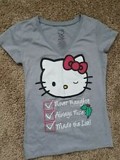 Hello Kitty xmas tshirt size L. First bidder will win this auction!