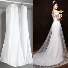 Wedding Dress Bridal Gown Garment Dustproof Breathable Cover Storage Bag Large