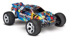 Traxxas Rustler 1/10 2wd Waterproof Stade camion TQ 2,4ghz RTR #37054-4