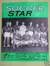SOCCER STAR - UK FOOTBALL MAGAZINE -  10 JULY 1964 - ENGLAND