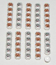 LEGO LOT OF 50 NEW DUAL SIDED MUMMY WRAP HEADS ALIEN HALLOWEEN PIECES