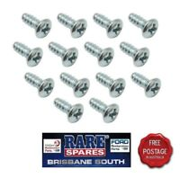 HOLDEN HK HT HG  FRONT DOOR OPENING SCUFF PLATE SCREWS RARE SPARES