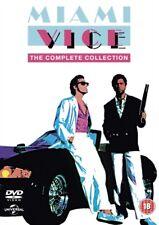 MIAMI VICE Stagioni 1 to 5 Collezione Completa DVD NUOVO DVD (8306607)
