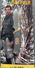 Gerber Knife, Bear Grylls Survival Compact Fixed Blade Pig Knife, 31-001066 - AU