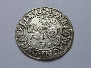 Lituanie-Pologne. 1/2 grosz 1556.