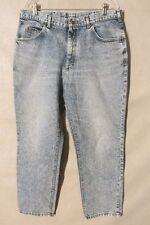 F1661 Lee USA Made Acid Washed 80's Jeans Men's 36x29