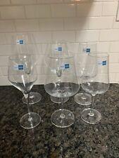 6 NEW Schott Zwiesel Tritan Protect crystal glasses stemware wine