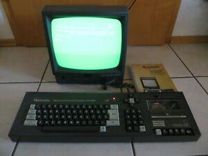Schneider CPC 464 Computer mit Grün Monitor Handbuch läuft
