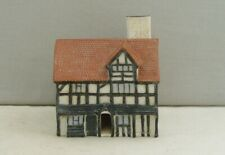 More details for unusual goss cottage model of shakespeare's house large/half length open door