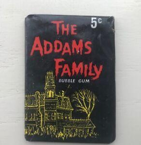 1964 DONRUSS ADDAMS FAMILY ORIGINAL UNOPENED GUM CARD WAX PACK