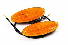 Hella LED Orange Side Markers Set Reflector Light Fiat Ducato Bessacar Motorhome