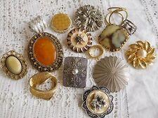 Lovely Huge Job Lot of Vintage 1950s/60s Scarf CLips