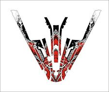 kawasaki 550 sx jet ski wrap graphics pwc stand up jetski decal sticker kit 22