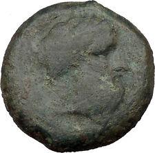 Syracuse in Sicily 344BC Timoleon Zeus Eleutherios Ancient Greek Coin  i36652