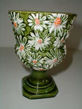 Japanese SHASTA DAISY #5798 Pedestal/Footed Urn Planter/Vase - Made in Japan