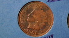 1906 INDIAN HEAD CENT HISTORIC AMERICAN COIN 500A7