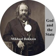 God and the State, Mikhail Bakunin Russia Germany Treaty Audiobook on 1 MP3 CD