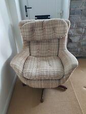 More details for vintage swivel tilt  egg bucket chair